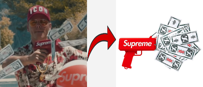 Leon Machere Supreme Money Gun