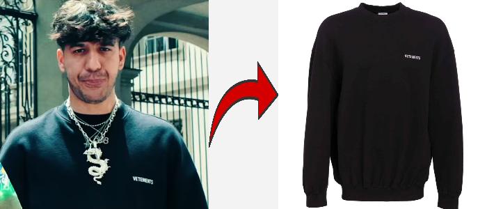 Ufo361 Vetements Sweatshirt