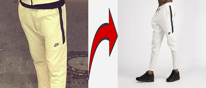 MERO Nike Trainingsanzug weiß